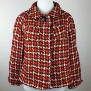 Banana Republic Jacket xs Houndstooth 99% Wool